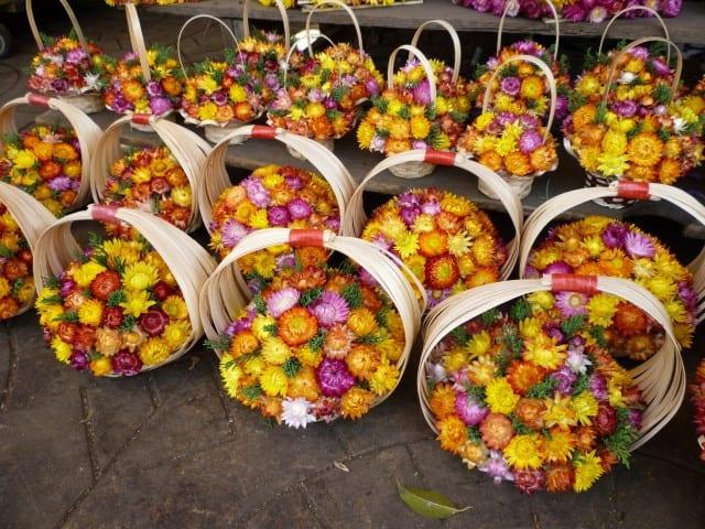 Hoa khô là món quà lưu niệm không thể bỏ qua khi tới Đà Lạt