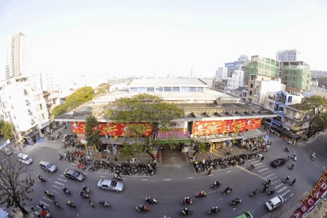 Toàn cảnh chợ Hàn Đà Nẵng