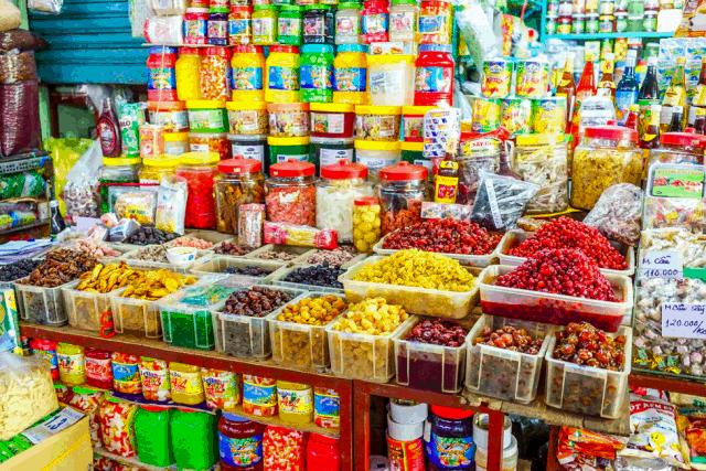 Đặc sản Đà Nẵng ở chợ Cồn