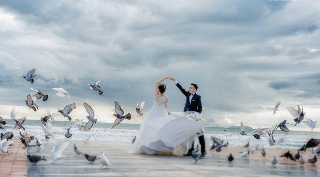Chụp ảnh cưới tại Công viên Biển Đông Đà Nẵng