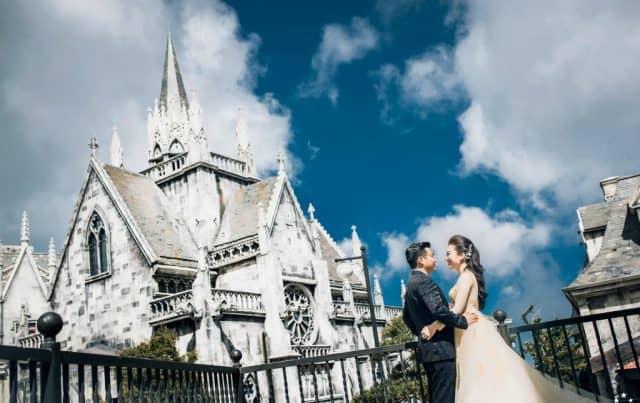 Bà Nà Hills điểm chụp ảnh cưới Đà Nẵng