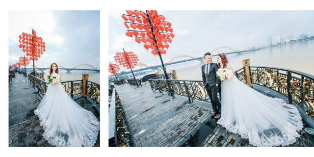 Cầu Tình Yêu điểm chụp ảnh cưới Đà Nẵng