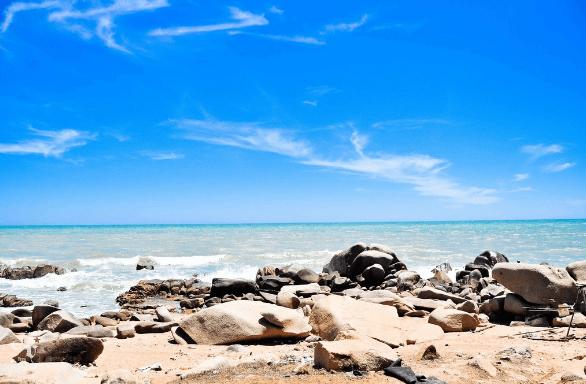 Bãi tắm Hồ Cốc hoang sơ