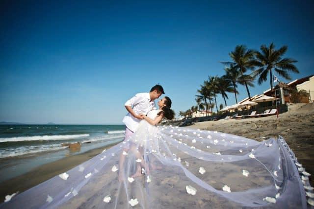 chụp ảnh cưới Đà Nẵng tại bán đảo Sơn Trà