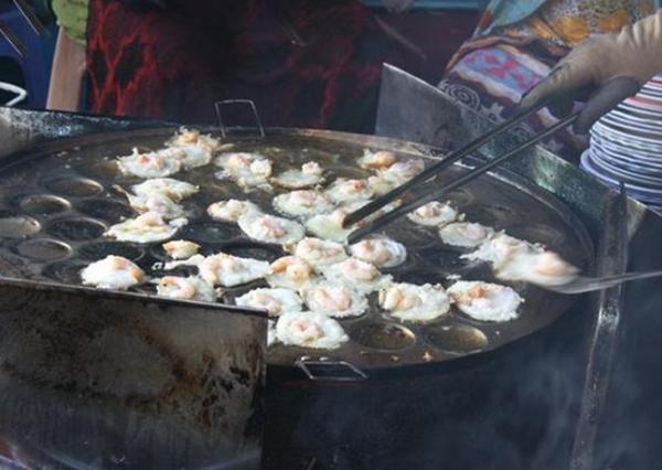 Bánh khọt mang hương vị rất riêng của miền biển Vũng Tàu