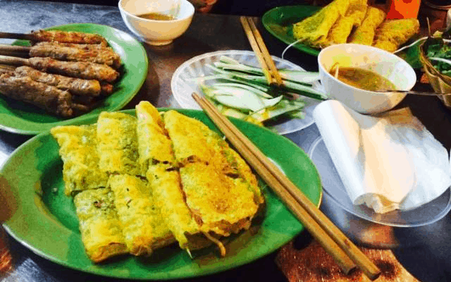 Bánh xèo - ăn vặt Đà Nẵng