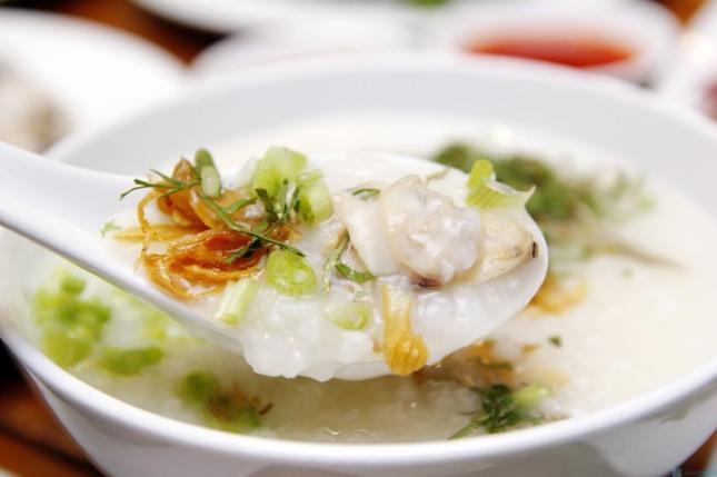 Cháo Hàu Long Sơn bổ dưỡng