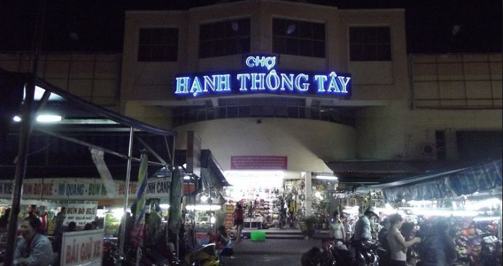 Chợ Hạnh Thông Tây một chợ lớn Sài Gòn
