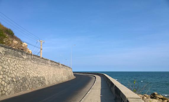 Cung đường biển ở Vũng Tàu