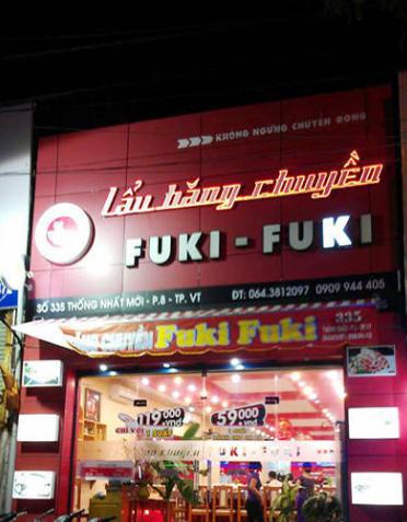Lẩu băng chuyền Fuki-Fuki