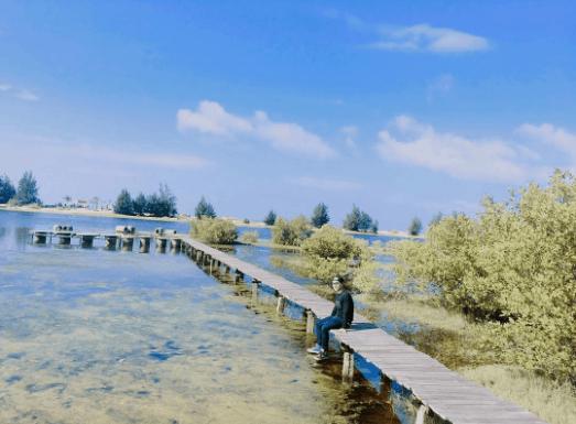 Biển Hồ Cốc yên bình và thơ mộng