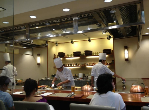 Không gian của Nhà hàng Fuji