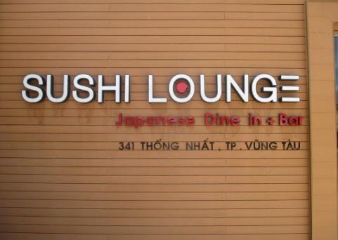 Nhà hàng Sushi Lounge Vũng Tàu