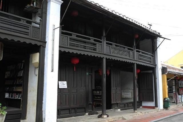 Nhà cổ nơi giao thương nổi tiếng ở phố Hội (Ảnh ST)