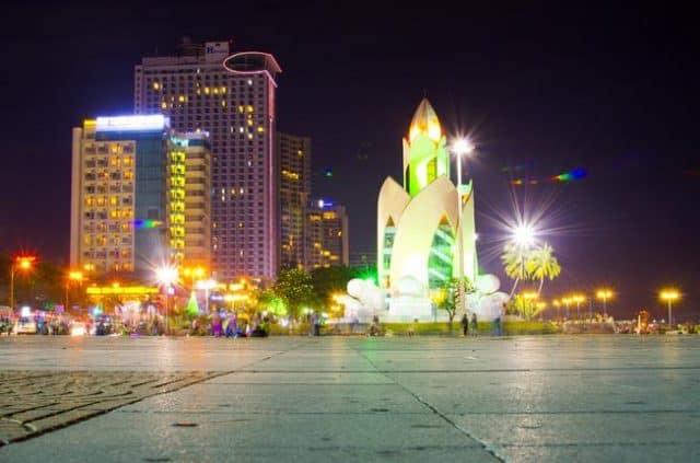 Đêm Nha Trang tại tháp Trầm Hương