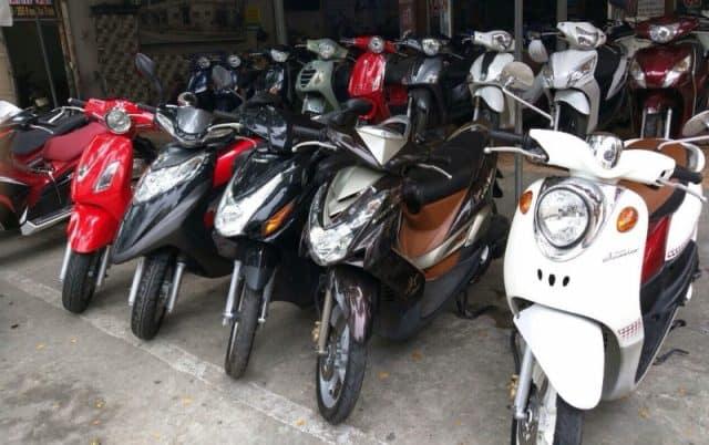 Thuê xe máy tại Đà Nẵng (Ảnh ST)