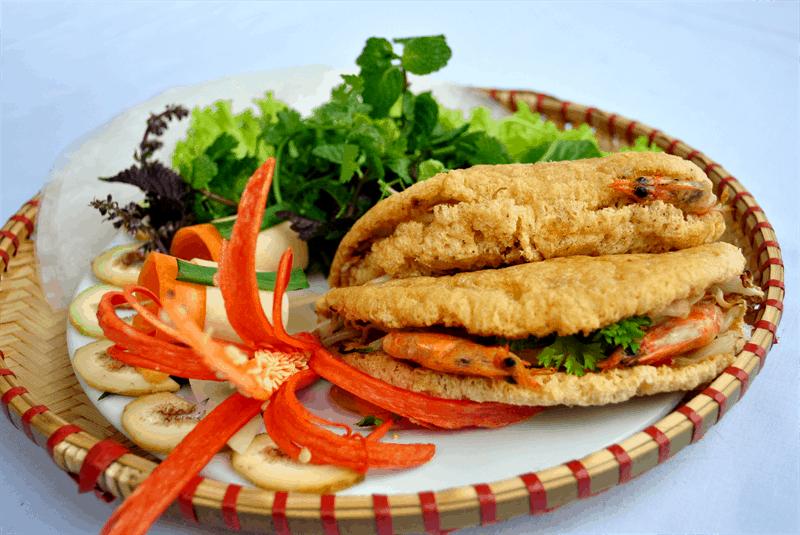 Bánh khoái Hạnh - Quán ăn vặt ở Huế