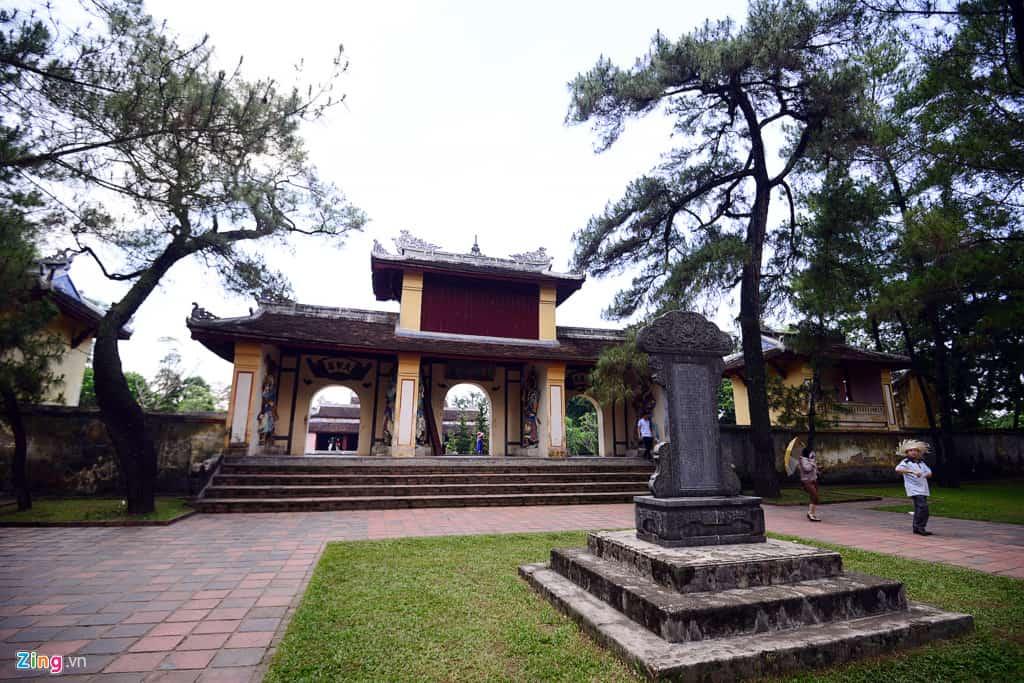 Kiến trúc khác chùa Thiên Mụ