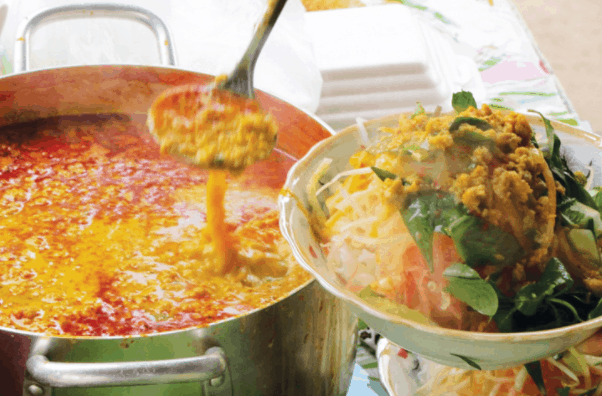 Bún nhâm, bún kèn - Đặc sản ẩm thực Phú Quốc
