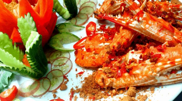 Nhà hàng Crab House nổi tiếng với các món ghẹ