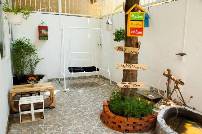 Quán cafe đẹp ở sài gòn điểm Chốn riêng tư ở Xúc Xắc Xoay Café TP.HCM (ảnh sưu tầm)