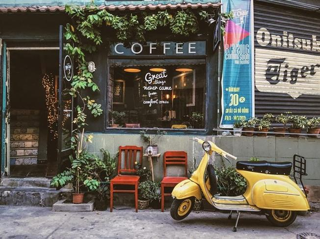 Quán cafe đẹp ở sài gòn Little Chair Coffee TP.HCM (ảnh sưu tầm)
