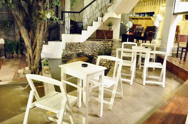 Không gian riêng tư ở Hà's Coffee Shop TP.HCM (ảnh sưu tầm)