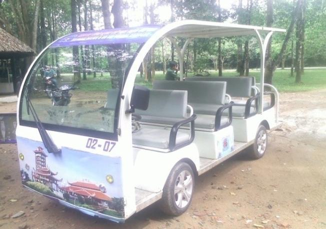 Xe điện hiện đại