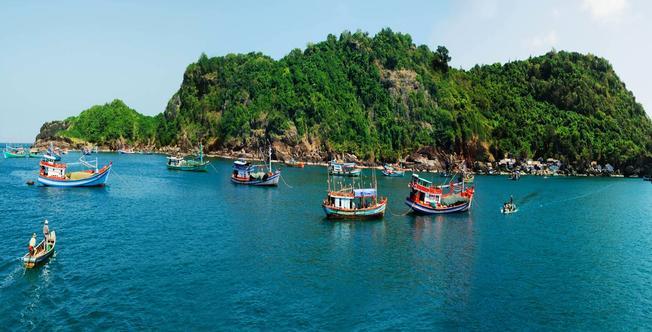 Khu du lịch cụm đảo Hòn Khoai