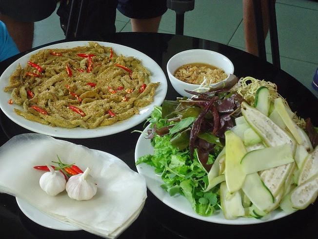 Gỏi cá Nam Ô Món ngon ở Đà Nẵng