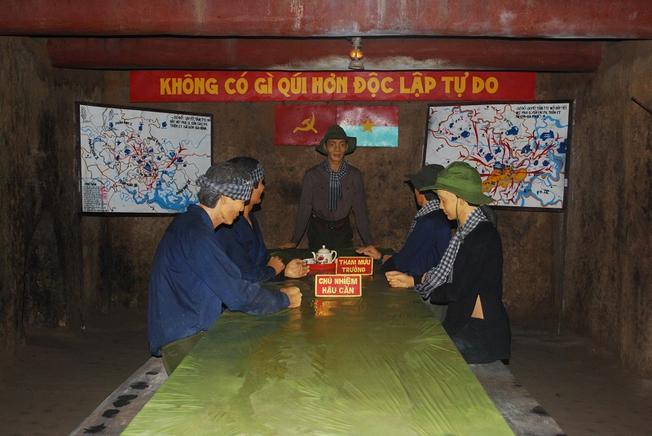 Phòng họp Bộ tư lệnh Quân Khu Sài Gòn - Chợ Lớn - Gia Định (ảnh sưu tầm)