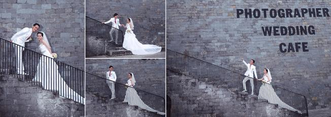 Cầu thang là nơi được nhiều cặp đôi lựa chọn (ảnh sưu tầm)