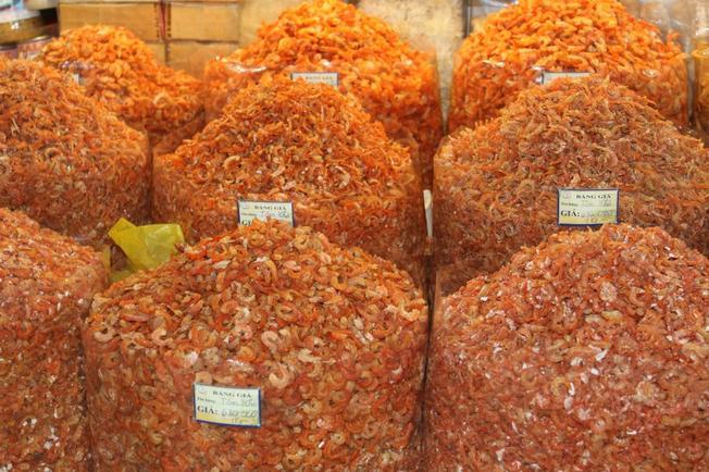 Tôm khô cà mau món quà đặc sản từ phương nam