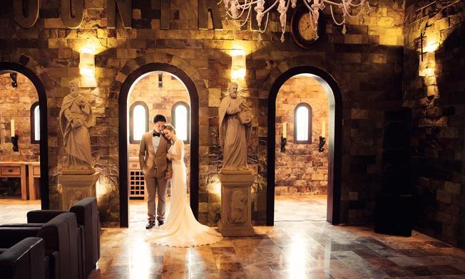 Bức ảnh cưới mang phong cách Châu Âu (ảnh sưu tầm)