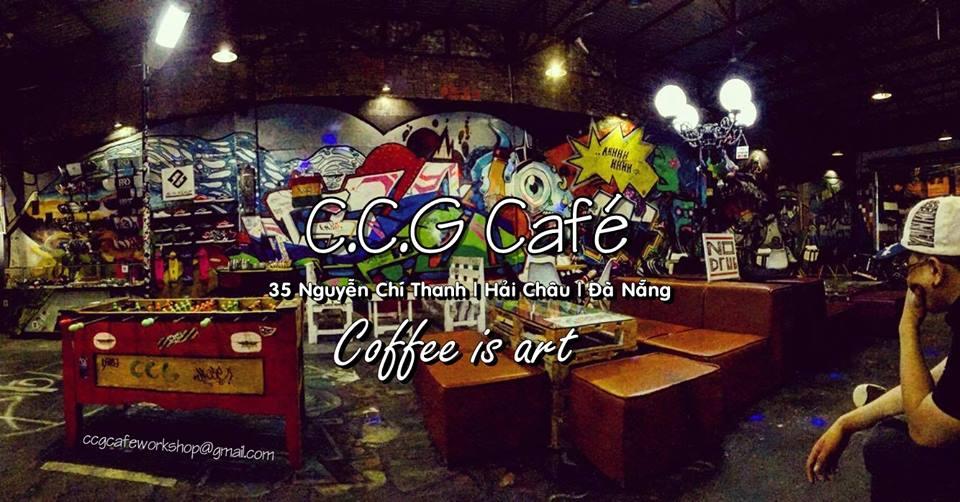 Những quán cafe đẹp ở Đà Nẵng : C.C.G cafe