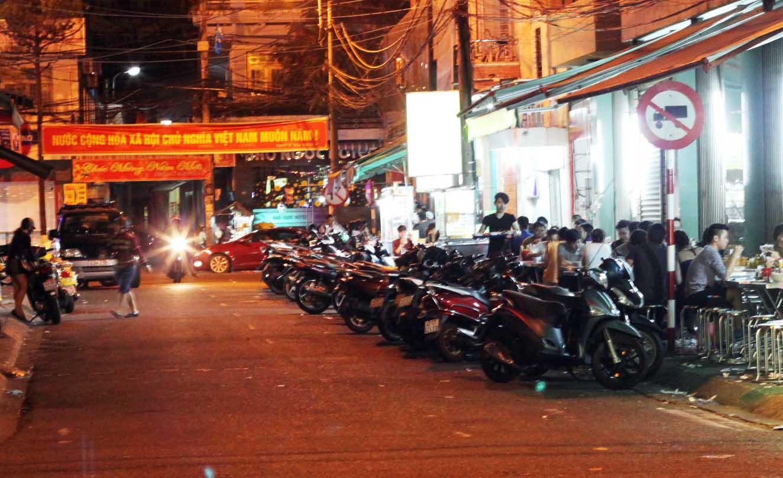 Quán ăn đêm ở Đà Nẵng