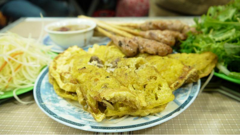 Bánh xèo Bà Dưỡng: món ngon Đà Nẵng
