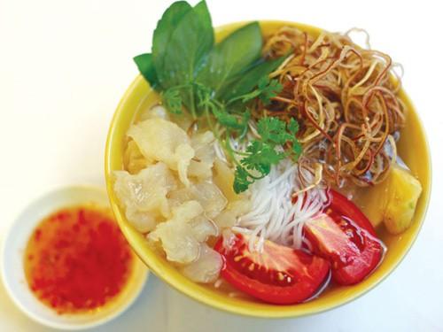 Bún sứa Nha Trang - Đặc sản Nha Trang