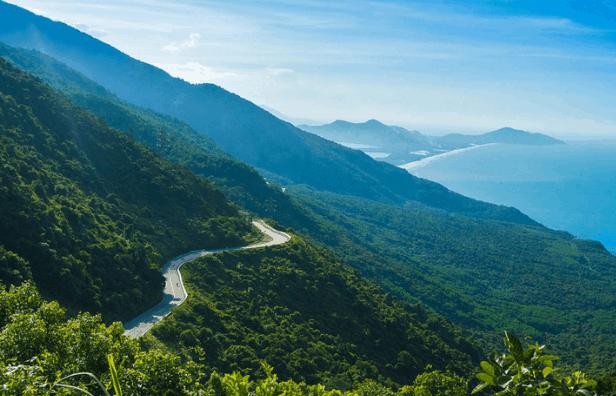 Cảnh đẹp Đà Nẵng: đèo Hải Vân