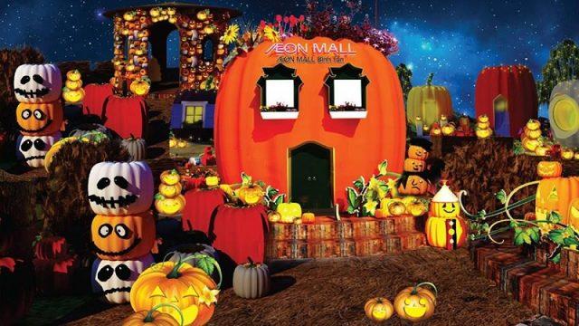 Những địa điểm vui chơi Halloween ấn tượng tại các thành phố lớn