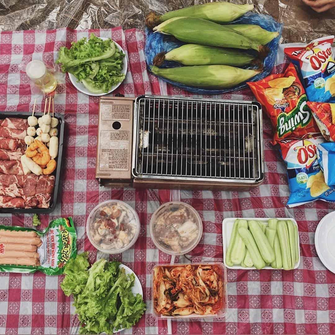 Cùng hội bạn làm chuyến picnic trên núi vào cuối tuần thì còn gì vui bằng. Ảnh: @quynhanh4112