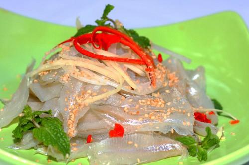 Gỏi cá Mai thơm ngon Nha Trang