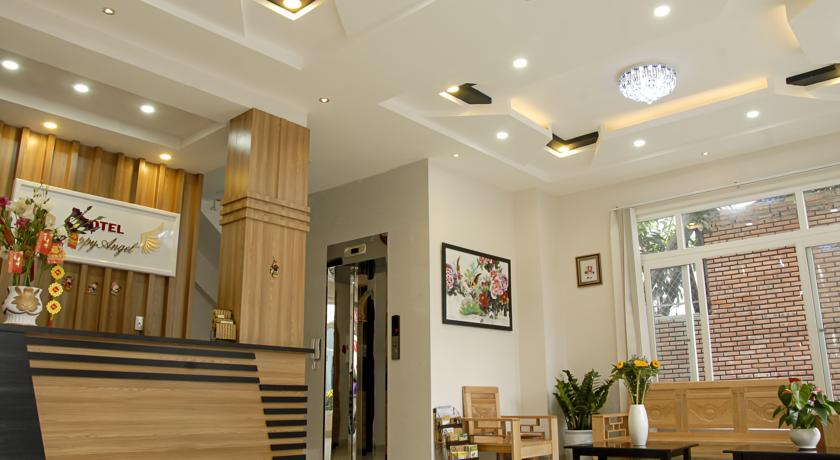 Happy Angel hotel (Ảnh: ST).