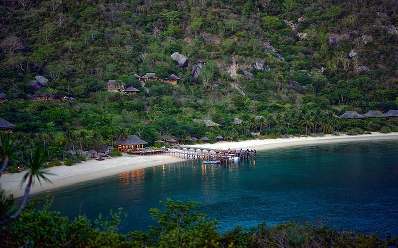 Khu resort Six Senses Ninh Vân Bay (Ảnh: ST).