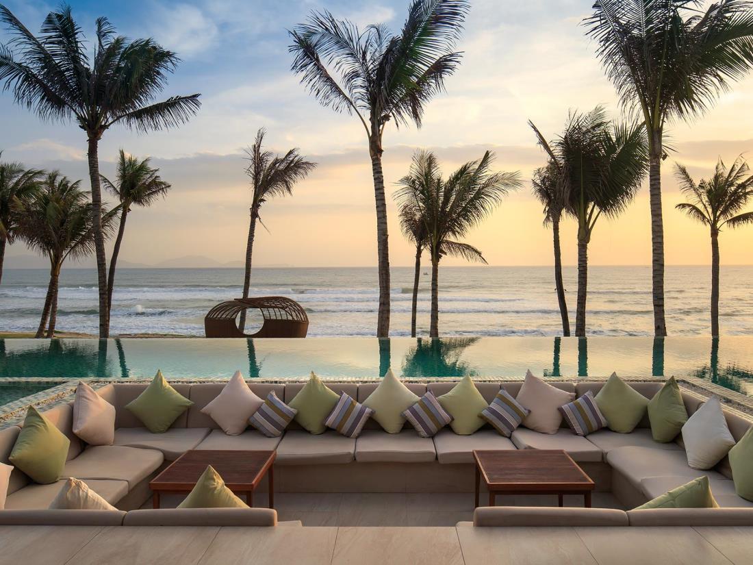 Một góc nhìn tuyệt đẹp tại Fusion Resort Nha Trang (Ảnh: ST).