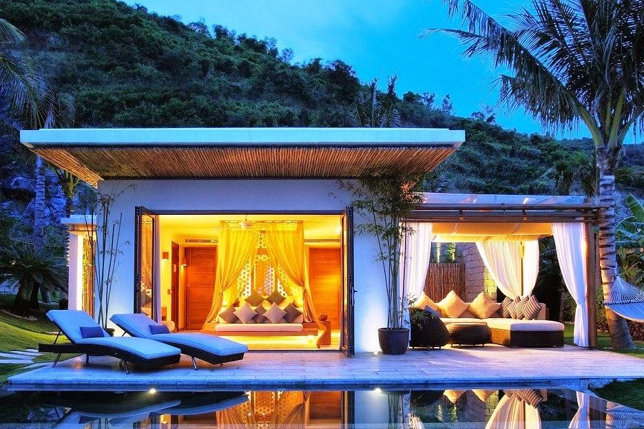 Không gian gần gũi với thiên nhiên tại Mia Resort Nha Trang (Ảnh: ST).
