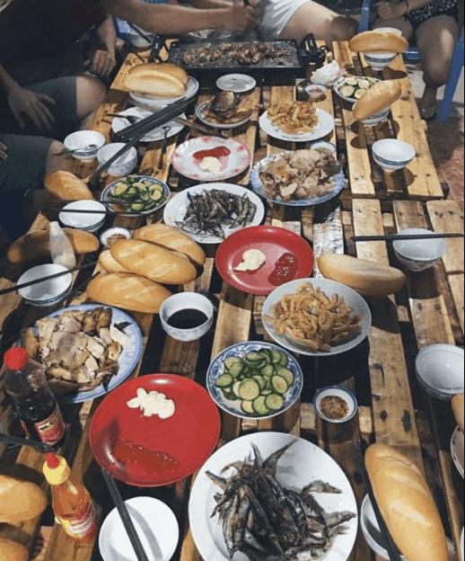 Cùng nhau tổ chức tiệc ăn ngoài trời tại An Yên Homestay