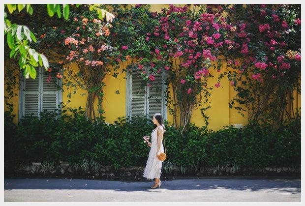 Một góc rất Hội An nhưng được chụp tại Thảo Cầm Viên Sài Gòn đó nha! Ảnh: ST