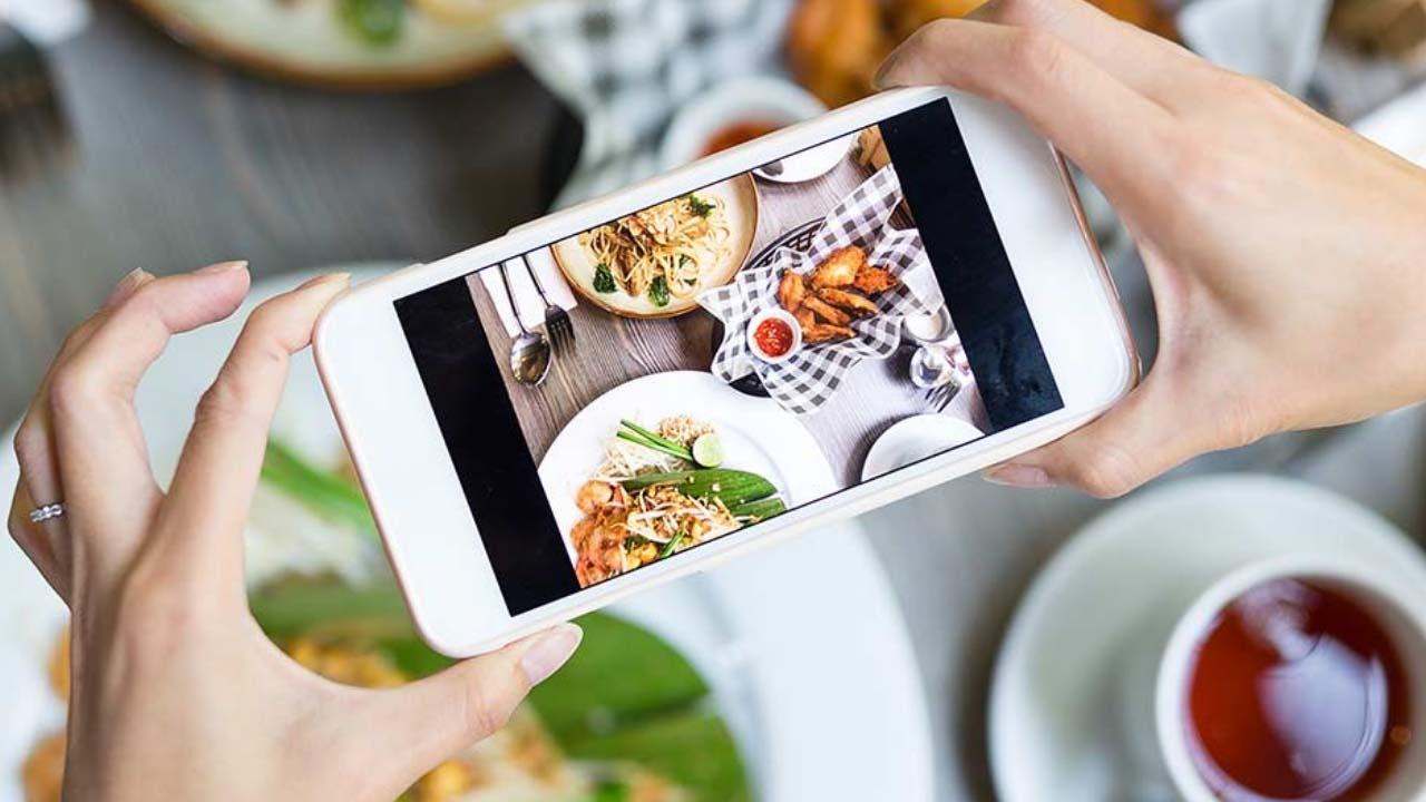 Foodie ứng dụng chụp đồ ăn