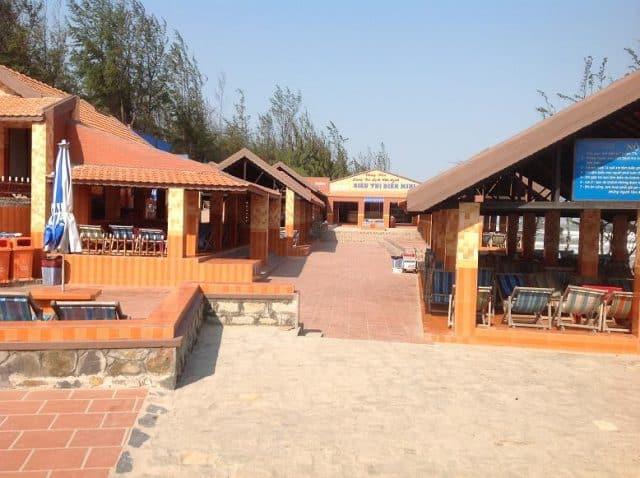 Các phòng dịch vụ ở làng du lịch (ảnh ST)